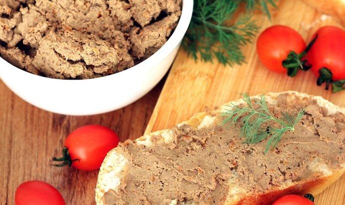 Как сделать куриный печеночный паштет