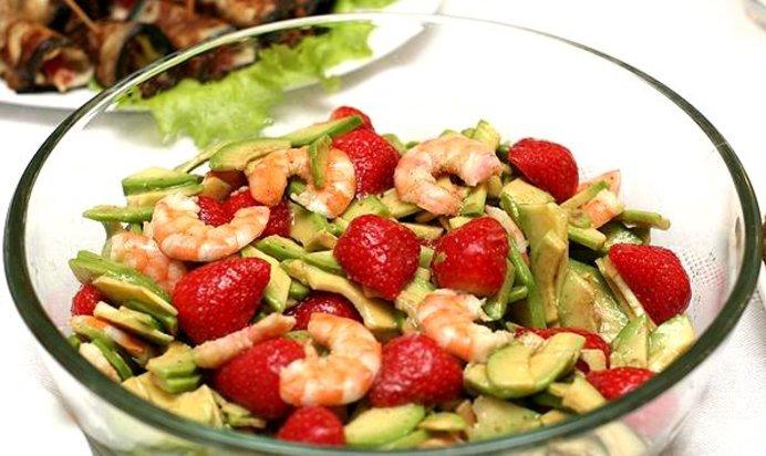салат креветки и авокадо рецепт с фото очень вкусный