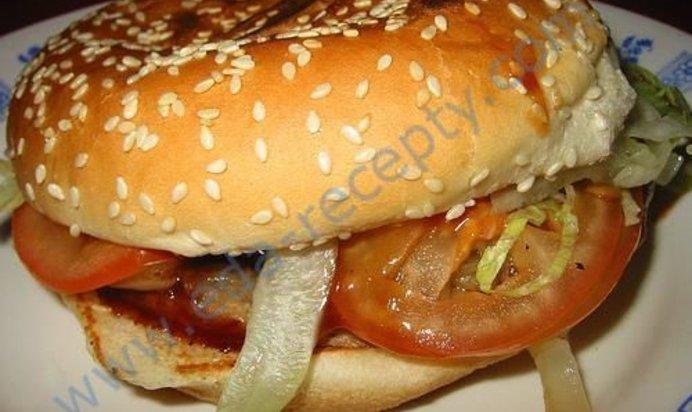 Гамбургер пошагово