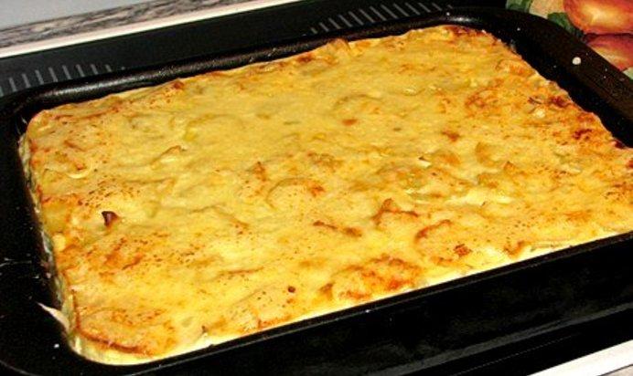 Пошаговый рецепт картофельная запеканка