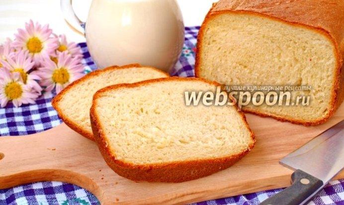 Рецепт простого хлеба в хлебопечке без молока