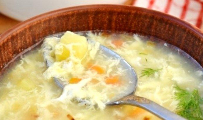 суп яйцами пошаговый рецепт фото