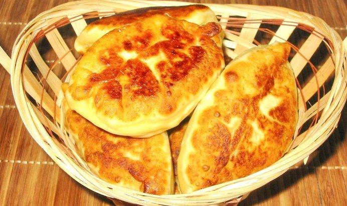 Пирожки жареные с мясом рецепт с пошаговый