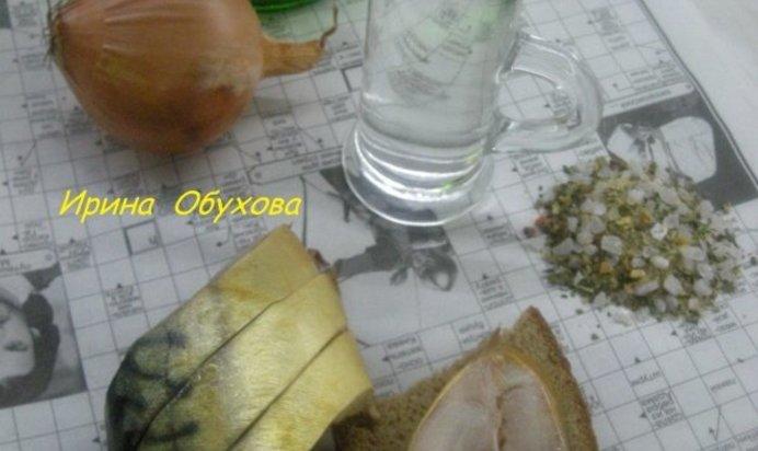Рассол для скумбрии рецепт пошагово