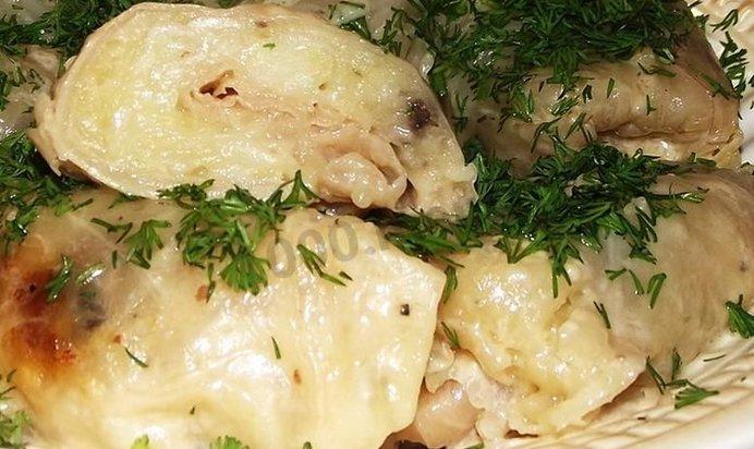 Рецепт голубцов с картошкой