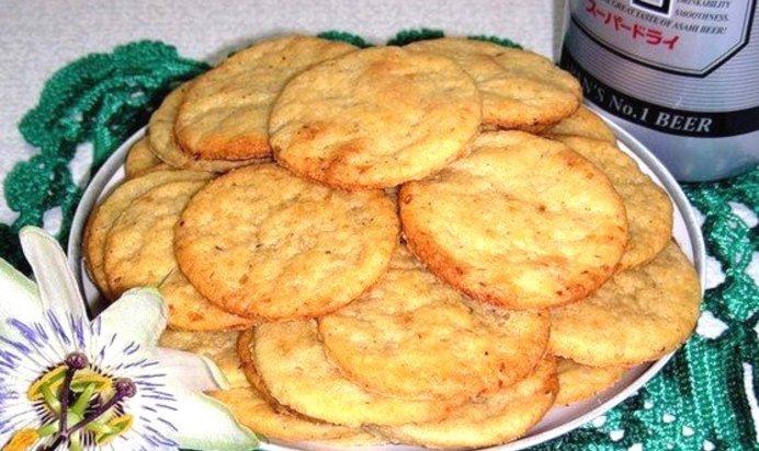Простой Рецепт хрустящих сырных крекеров пошагово с фото