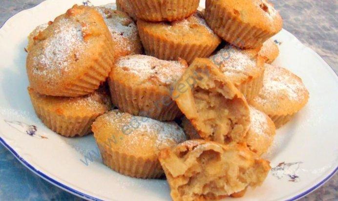 Кекс с яблоками рецепт с фото пошагово в мультиварке
