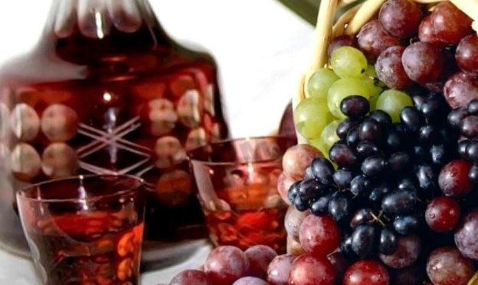 Как из винограда сделать настойку из