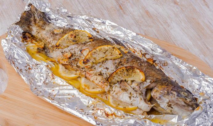 Форель рыба в фольге в духовке рецепт