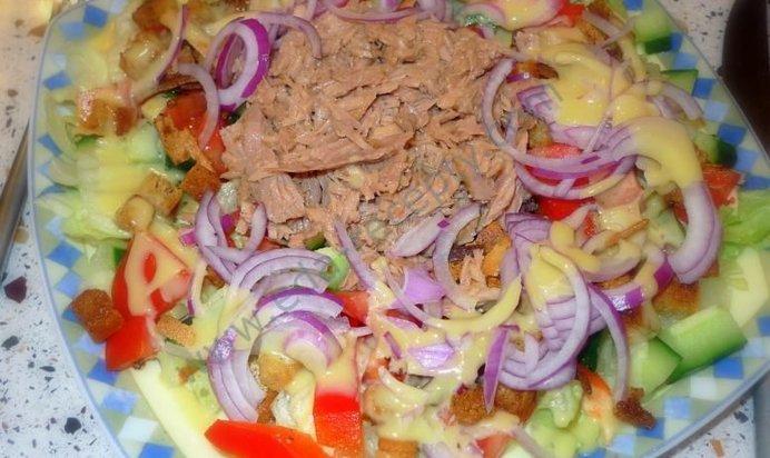 Рецепты пошагово с консервированным тунцом