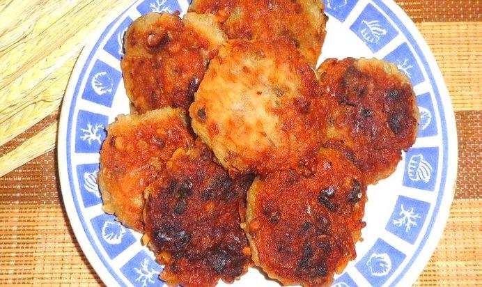 Картофель с грецким орехами