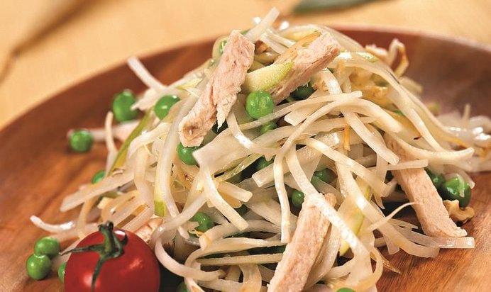 Рецепты простых салатов из редьки