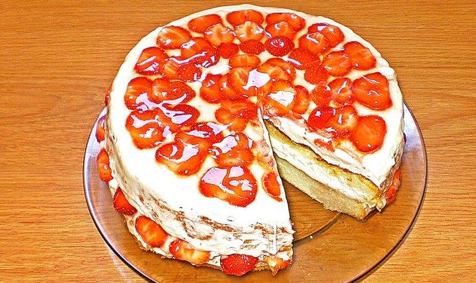 Рецепты бисквитного торта в домашних условиях пошагово простые