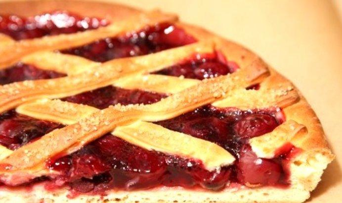 Рецепт вишневый пирог на дрожжевом тесте