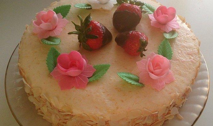Крема для тортов с фруктами рецепты в домашних условиях