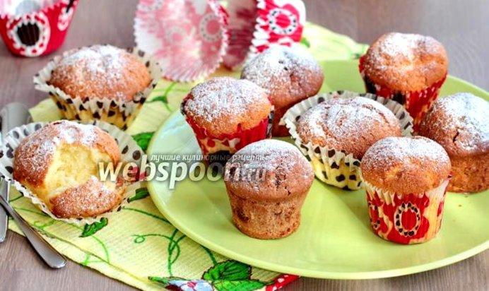 Лимонный кекс в формочках - рецепт, фото