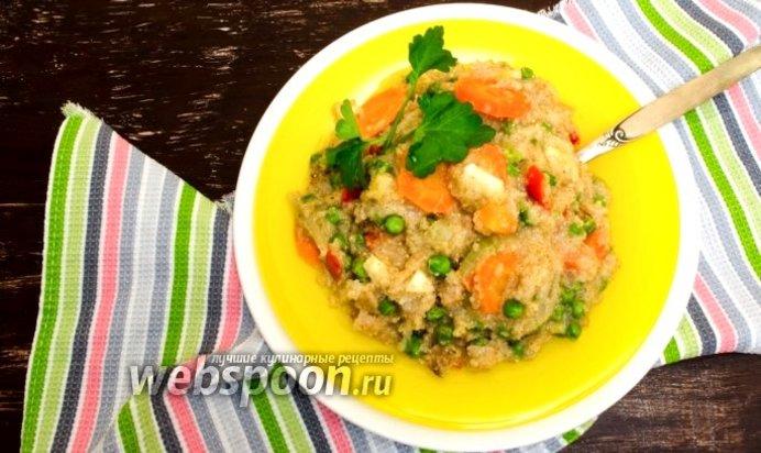 Каша с овощами рецепт