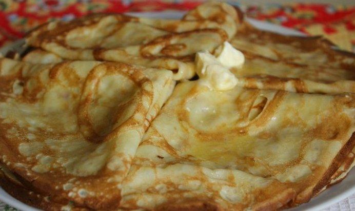 Сладкие блинчики на молоке тонкие рецепт с пошагово