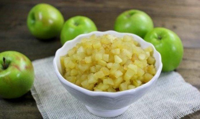 Как сделать из яблок начинку
