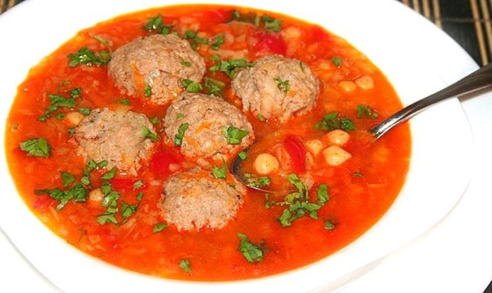 Очень вкусный суп с фрикадельками пошаговый рецепт