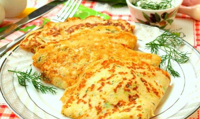 Блины из кабачков на кефире рецепты пошагово