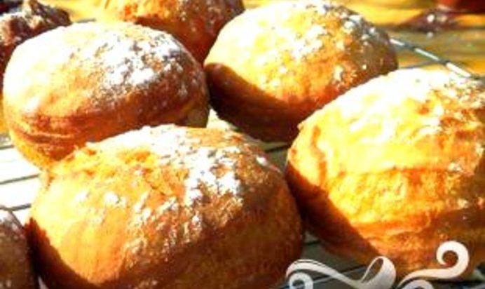 Рецепт пончиков с джемом