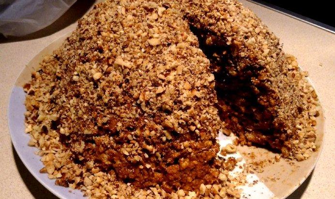 Торт муравейник из печенья рецепт с пошаговым фото