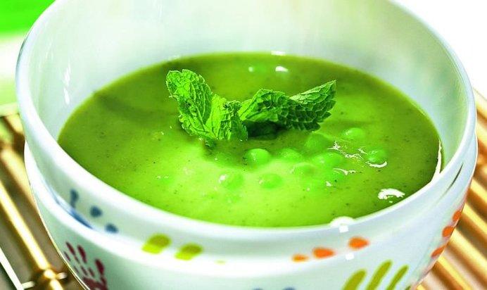 Рецепт супа из замороженного зеленого горошка с фото