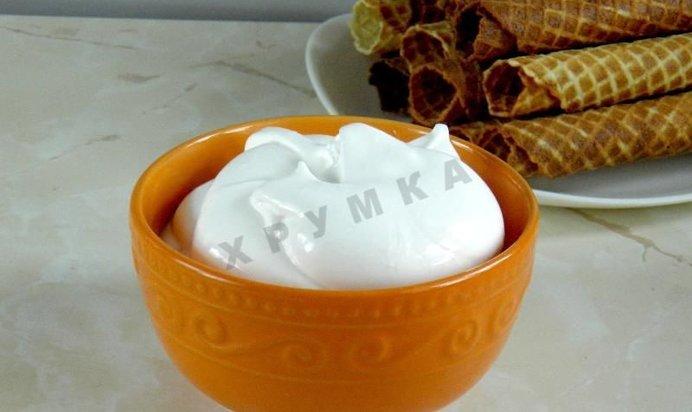 Крем для трубочек вафельных домашних условиях рецепт с фото пошагово