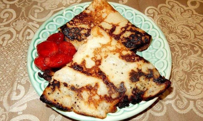 Блины на кефире пошаговый рецепт с фото