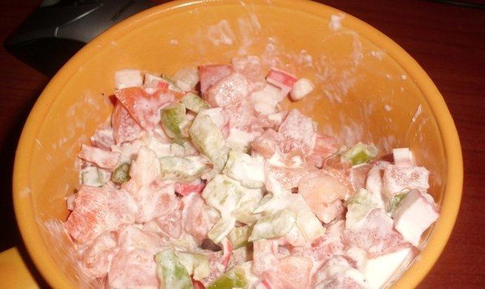 Рецепт салата с форелью