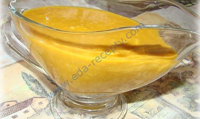 Соус к рыбе горчичный рецепт с пошагово