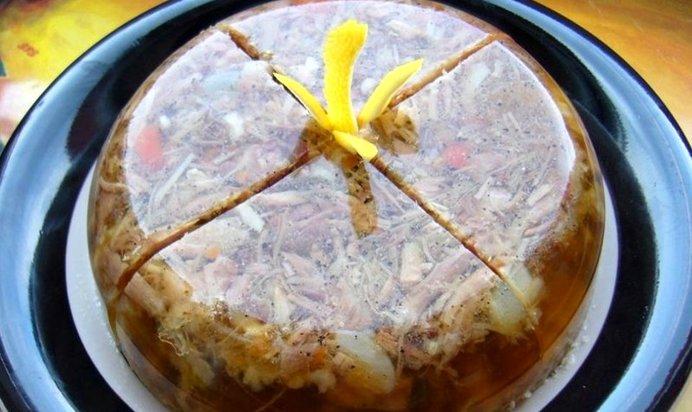 Холодец в мультиварке рецепт с фото пошагово
