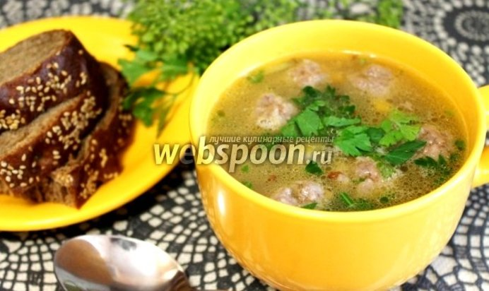 Суп с грибами и фрикадельками пошаговый рецепт с фото