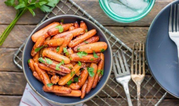 Запеченная морковь рецепт пошагово в
