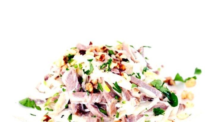 лучшее рецепты салатов из языка