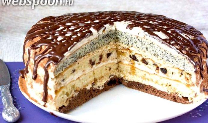 Сметанный торт рецепты с фото пошагово