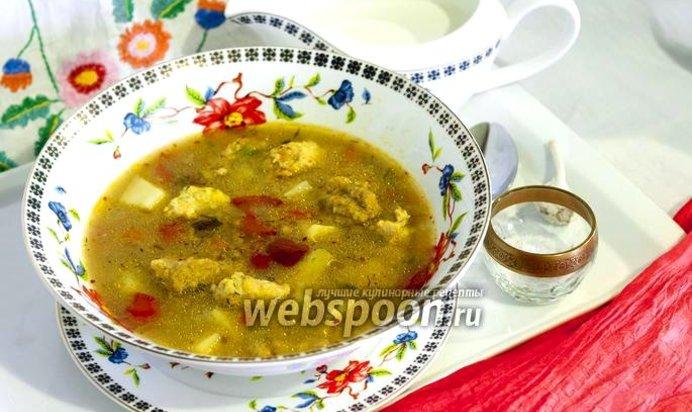 суп с фрикадельками с клецками пошаговый рецепт с фото