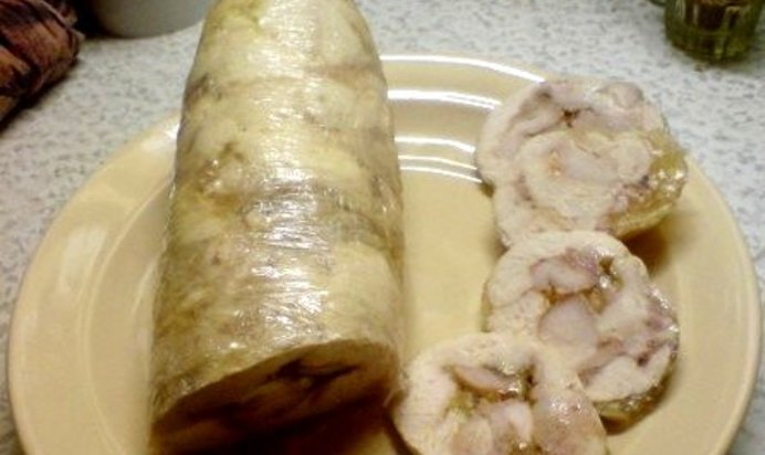 Куриный рулет вместо колбасы рецепт с фото