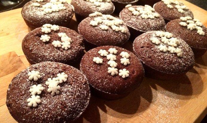 Маффины шоколадные с шоколадом рецепт пошагово