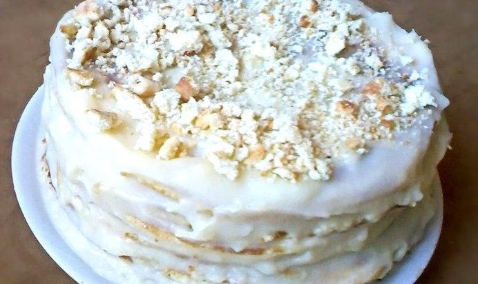 Ванильный торт рецепт пошагово