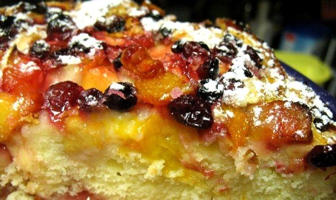 Вкусный пирог с ягодами рецепт пошагово в духовке