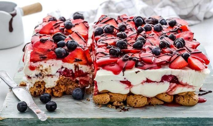 Торт с маскарпоне рецепт с фото пошагово