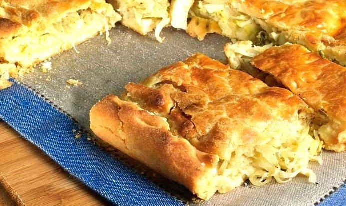 Луковый пирог пошаговый рецепт