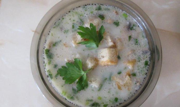 Суп с сыром и копченостями рецепт пошагово