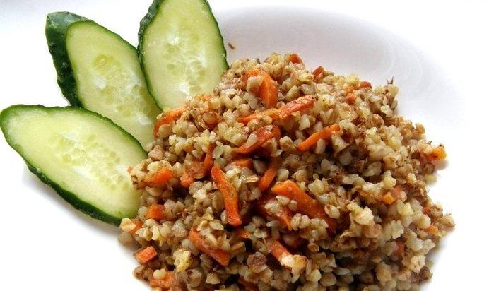 Гречневая каша с луком и морковью рецепт пошагово