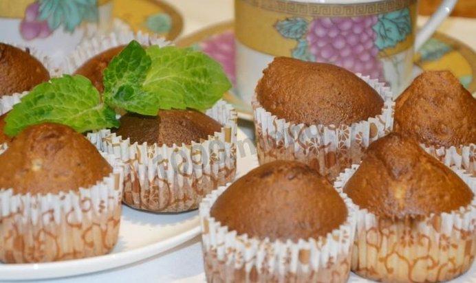 Кексы без сметаны в формочках