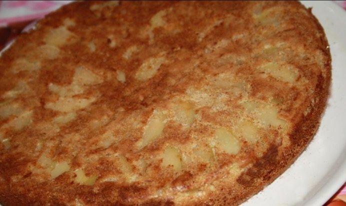 Как сделать самый простой пирог с яблоками