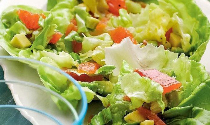 Салат с авокадо рецепты простые в домашних условиях с