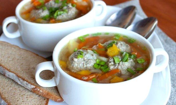 Суп с фрикадельками пошаговый рецепт в мультиварке редмонд